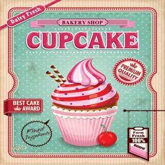 cupcake poster - Pesquisa Google