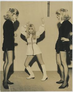 Dori Ghezzi e le gemelle Kessler