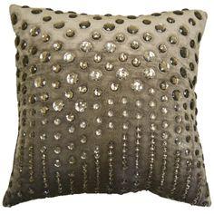 Raindrop Throw Pillow CL9CLP1203AGY