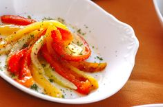 パプリカの黒酢マリネのレシピ・作り方 - 簡単プロの料理レシピ   E・レシピ