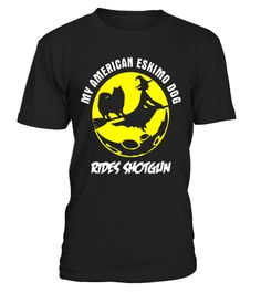 "# My American Eskimo Dog Rides Shotgun Halloween Gift T-Shirt .  Special Offer, not available in shops      Comes in a variety of styles and colours      Buy yours now before it is too late!      Secured payment via Visa / Mastercard / Amex / PayPal      How to place an order            Choose the model from the drop-down menu      Click on ""Buy it now""      Choose the size and the quantity      Add your delivery address and bank details      And that's it!      Tags: This T-Shirt Can Make A…"