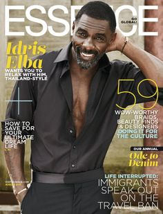 Idris Elba Doesn't Think He'll Ever Get Married Again: Photo Idris Elba is looking so hot while shirtless for his Essence magazine August 2017 cover story. Here's what the actor had to share with the mag, on… Idris Elba, Photo Book, Long Haired Men, Cristian Grey, Essence Magazine, Nick Bateman, Black Actors, Le Male, Francisco Lachowski