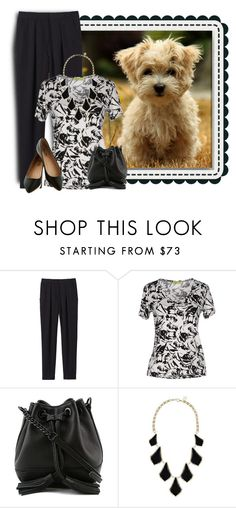 """""""Untitled #840"""" by tinkertot ❤ liked on Polyvore featuring Rebecca Taylor, Versace, Rebecca Minkoff and Kendra Scott"""