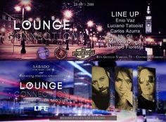 Lounge Connection - capas de evento para Facebook