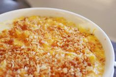 FIG + COTTON: Back to Basics: Creamy Baked Macaroni and Cheese