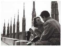 (Milan) Annie Girardot and Alain Delon in Rocco e i suoi fratelli (1960) by Luchino Visconti