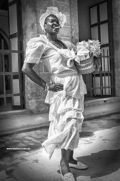 City of Havanna, Cuban Lady, Cuba