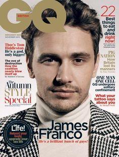 [ James Franco - GQ British ]