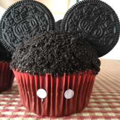 Mickey Mouse Cupcakes for an awesome 2 year old.