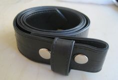 Recycled Rubber Snap Belt by rockwell23 on Etsy, $20.00