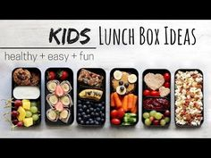 We all eat with our eyes, don't we? Although these lunch box ideas are intended for kids, they can certainly be enjoyed by adults too! Why should only the