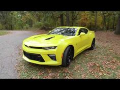 2016 Chevrolet Camaro SS - Exterior Design | AutoMotoTV - YouTube