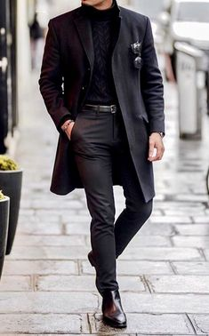 Winter Dress Outfits, Casual Dress Outfits, Business Casual Outfits, Winter Fashion Outfits, Simple Outfits, Best Mens Fashion, Suit Fashion, Boy Fashion, Fashion Shoes