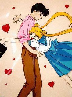 Sailor Moon: I missed you! Sailor Moon Y Darien, Sailor Moon Stars, Sailor Moon Usagi, Sailor Moon Crystal, Anime Love, Awesome Anime, Studio Ghibli, Sailer Moon, Sailor Moon Wallpaper