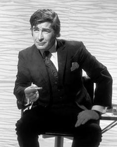 Dave Allen..On 1 The Beatles British Tour in '63 Dave Allen was the comic.