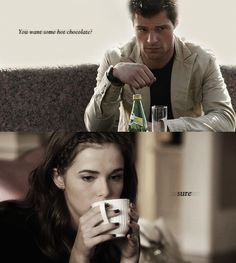Hot chocolate with Romitri! #ShadowKiss