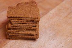Homemade crackers. #recipe #spelt
