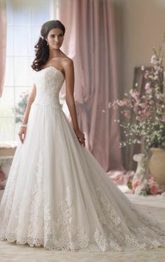 New Sweetheart Lace A-Line Bridal Dress Wedding Dresses Bridal Dress Custom Size   eBay
