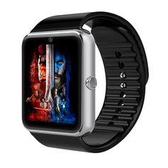 GT08 Bluetooth 4,0 Smartwatch Sync Notifier Unterstützung Sim Karte HD Touchscreen Schrittzähler Smart Uhr für Android iOS Smartphone //Price: $US $19.97 & FREE Shipping //     #meinesmartuhrende