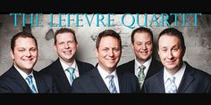 The LeFevre Quartet - These guys are well known within the gospel world. I opened for them last year. What a blessing.