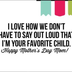 Printable Funny Mothers day Cards
