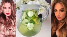 Água detox: receita para emagrecer é o segredo de Khloé Kardashian. Veja segredos do preparo - Bolsa de Mulher