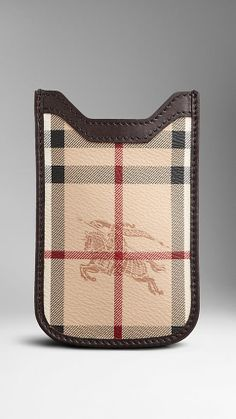 www.burberry.com Haymarket Check Phone Case | Burberry