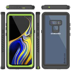 bf277acc06e Galaxy Note 9 Case, Punkcase [Extreme Series] Armor Cover W/ Built In  Screen Protector [Light Green]