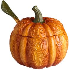 Pumpkin Tureen with Ladle   Pier 1 Imports / $44.95