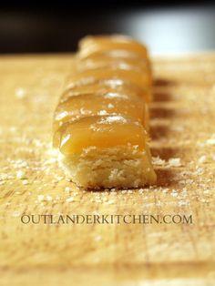 salted butterscotch shortbread