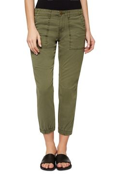 Sanctuary 'Peace Trooper' Crop Cargo Pants available at #Nordstrom
