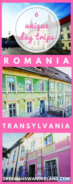 Romania: 6 Unique And Fantastic Day Trips From Brasov The best way to explore and travel Transylvania. A road trip through Romania and the most unique and best day trips from Brasov! Travel Tips For Europe, Europe Destinations, Amazing Destinations, Travel Plan, Solo Travel, Vacation Travel, Vacation Ideas, Wanderland, Thing 1