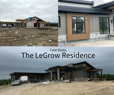 See how Peterborough Exteriors used KWP Engineered Wood Siding in this residential project. Engineered Wood Siding, Peterborough, Sustainable Design, Farm House, Case Study, Design Elements, Sustainability, This Is Us, Outdoors