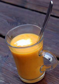 Soupe de carottes au cumin et à l'orange