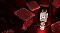 Rose Gold Cartier Tank Anglaise...In Love with this, too!
