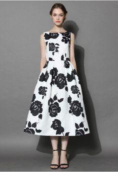 Miss Rosy Jacquard Prom Dress