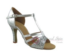 Natural Spin Salsa Salsa Shoes/Tango Shoes/Fashion Shoes(Open Toe):  S1166-03_Si