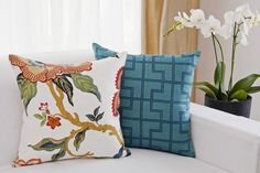 Set of two pillows by Maisonique / Zestaw dwóch poduszek
