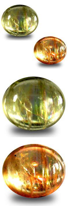 Diaspore 164392: 5.86 Ct Fabulous Oval Cabochon (12 X 10 Mm) Un-Heated Color Change Diaspore -> BUY IT NOW ONLY: $34.99 on eBay!