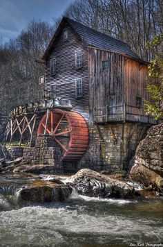 Amazing Snaps: The Glade Creek Grist Mill, West Viginia