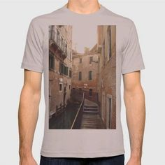 (Unisex Venice Alley (Italy)--2010 T-Shirt) #LtPgtAMomentOfSolitudeDuringAFamilyTripLt #Architecture #Pgt #Photography is available on Funny T-shirts Clothing Store   http://ift.tt/2cNLN7O