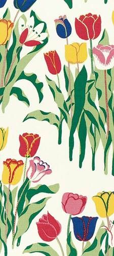 Svenskt Tenn is an interior design company with a webshop and a store located on Strandvägen in Stockholm. It was founded in 1924 by Estrid Ericson. Textile Prints, Textiles, Textures Patterns, Print Patterns, Josef Frank, Botanical Prints, Floral Prints, Happy Design, Flower Backgrounds