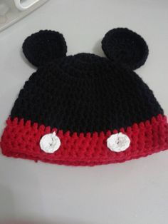 Gorro Mickey  Mouse bebe