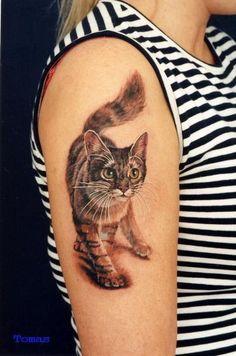 Olá pessoas!! Bom hoje vou trazer inspirações de tatuagens (e eu morrendo de vontade de fazer uma nova) de gatos para quem curte! Todas as...