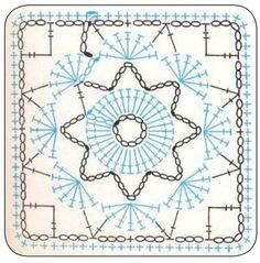patrones de cuadros a crochet - Buscar con Google