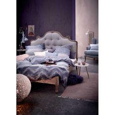Stilvoll cool! Lässig wie ausdrucksstark bedruckt, versprüht diese strukturierte Satinbettwäsche mit Reißverschluss anziehend rustikalen Charme.