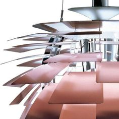 Copper and steel Artichoke Pendant Lamp by Paul Hennigsen for Louis Poulsen, in 1957