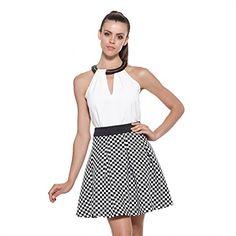 Jasi & Co JSDJ2275 Fashioin Waist Monochrome Check Pattern Swing Skate Skirt Jasi & Co. http://www.amazon.com/dp/B012QEMV68/ref=cm_sw_r_pi_dp_2VO3vb147H2S2