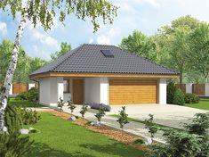 projekt Garaż G20 WRC2031 Terrain Constructible, Plan Garage, Gazebo, Outdoor Structures, Kit, House, Balcony, Projects, Kiosk