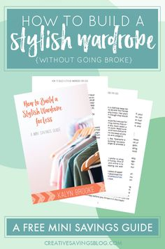 I used to buy clothing that was really expensive, but this guide showed me how to get all my favorite brands for much less! Now I never pay full price and actually enjoy shopping for clothes on a budget. I also found a new favorite tool to get cash back on every purchase I make online!